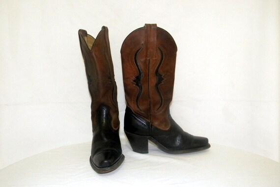 Frye Stiefel Vintage Stiefel Frauen Sz 5 b Western Cowboy