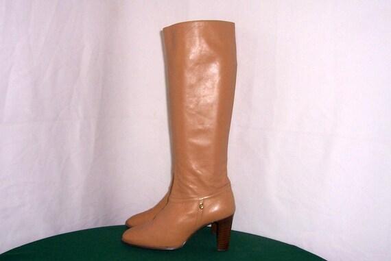 Size 7.5 Boots-Vintage Boots-Vintage Women Boots-T