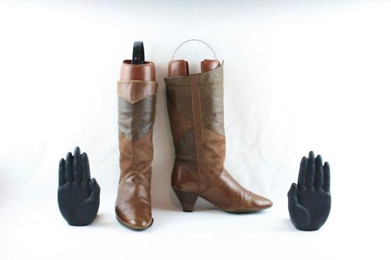 Size 6.5 boots-Vintage Women Boots-Women Vintage … - image 3