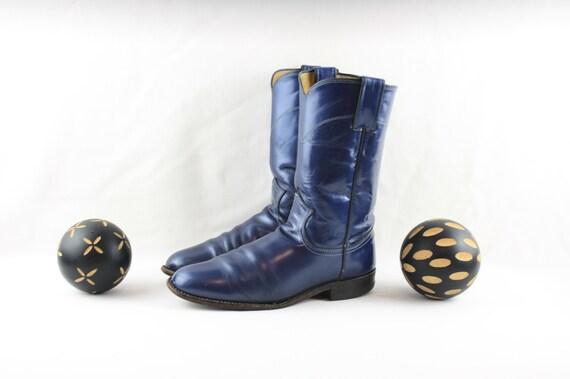 Vintage Boots-Size 6.5 Boots-Justin Boots-Vintage