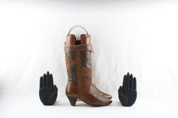 Size 6.5 boots-Vintage Women Boots-Women Vintage … - image 4