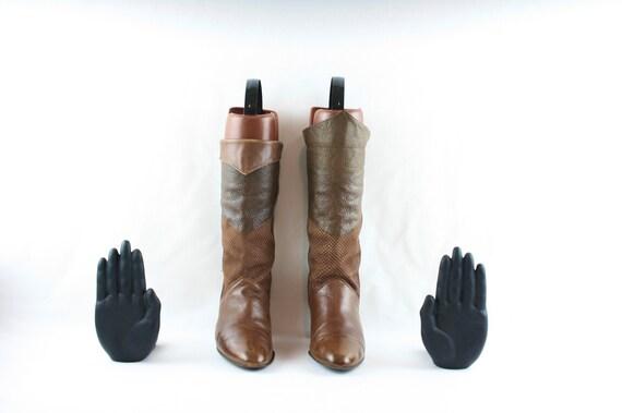Size 6.5 boots-Vintage Women Boots-Women Vintage … - image 2