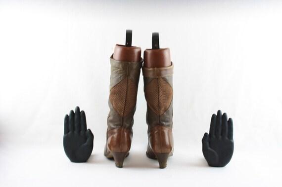 Size 6.5 boots-Vintage Women Boots-Women Vintage … - image 5