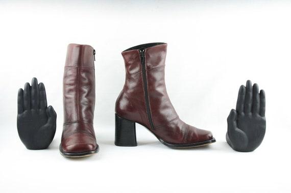Size 7 Boots-Vintage Women's Boots-1980's Women's… - image 3