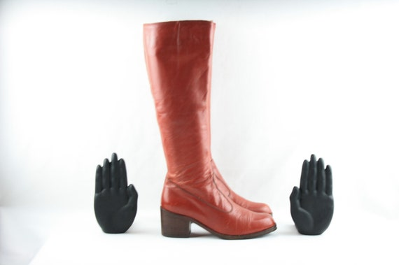 Size 6-Women's Vintage Boots-Knee High Women's Boo