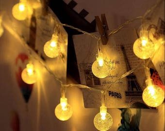 Hanging light bulbs | Etsy