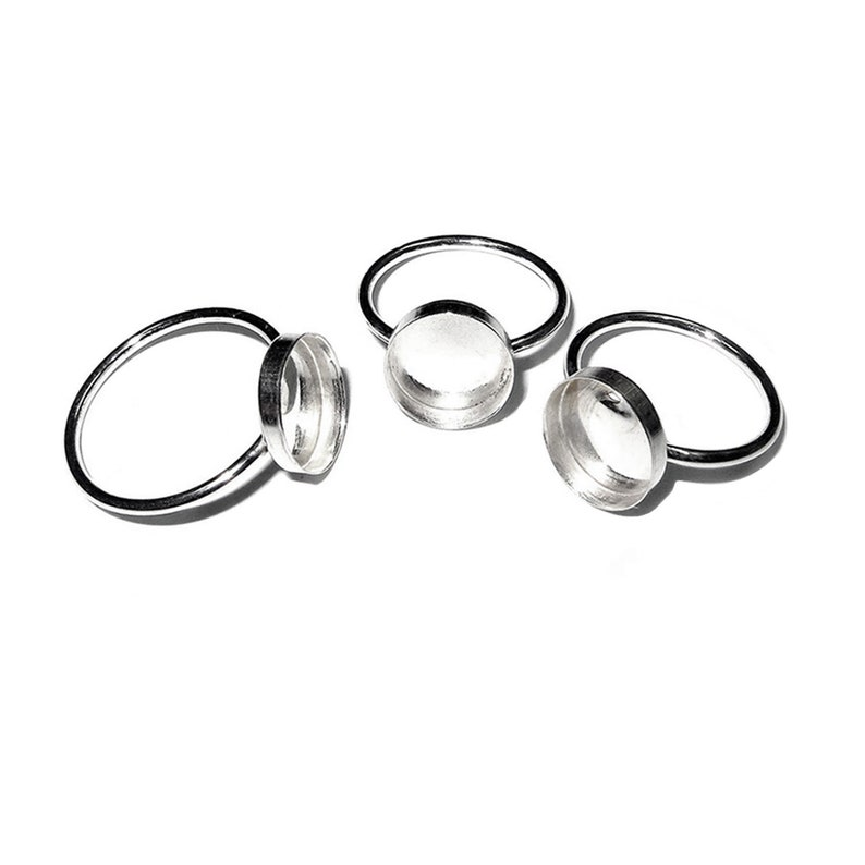 925 sterling silver base ring with oval bezel cup 10x12 mm size 4 blank ring bezel cup 8 925 silver ring silver ring 6 7 5 1 piece