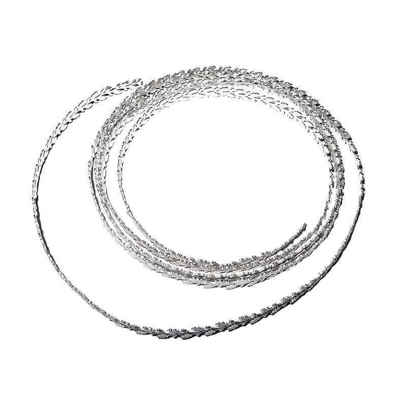 * Bacatus * 1 Strang Millefiori Perles Coloré Perles de Verre 4-8 mm TOP Qualité