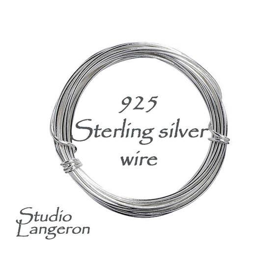 925 Sterling Silber Draht Dicke 30-10 GA Silberdraht