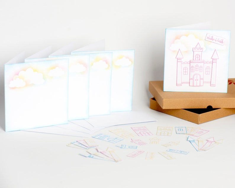 Castle Birthday Card Kit Rainbow Making