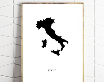 Italy Poster Wall Art Download Decor Instant