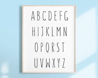Alphabet Printable Etsy