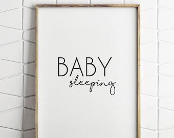 nursery wall decor, nursery baby decor, nursery modern wall decor, neutral decor, baby sleeping decor, nursery decor