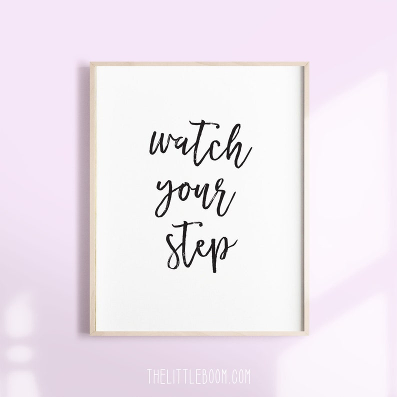 photograph relating to Printable Watch Your Step Sign titled monitor your phase indication, PRINTABLE Indicators, entrance doorway signal, electronic downloads, phase doorway indicator, keep track of your move, instantaneous obtain, doorway indicators
