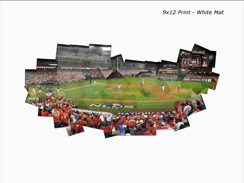 173  Zimmerman 3-Run Home Run  2019 NLDS Game 4 Mat Color White
