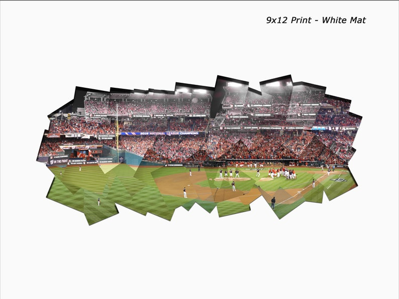 175  Nats Win the National League Pennant  2019 NLCS Game 4 Mat Color White