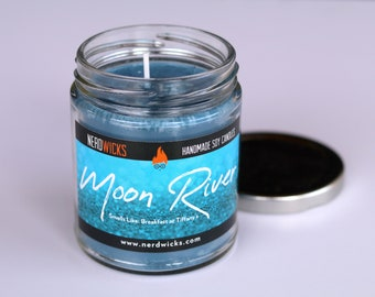 Moon River - Breakfast at Tiffany's Inspired Soy Candle - Breakfast Danish Scent