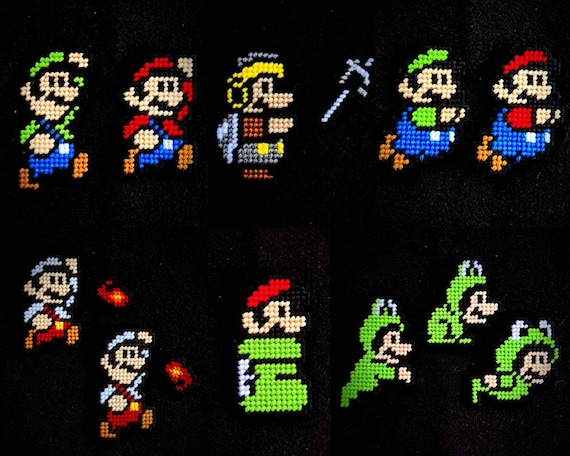 Super Mario Bros 3 Suits Mario Luigi Etsy