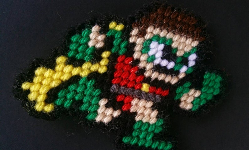 Robin Mega Man Style Magnet