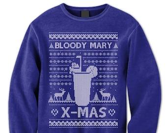 More Colours Funny Christmas Sweatshirt