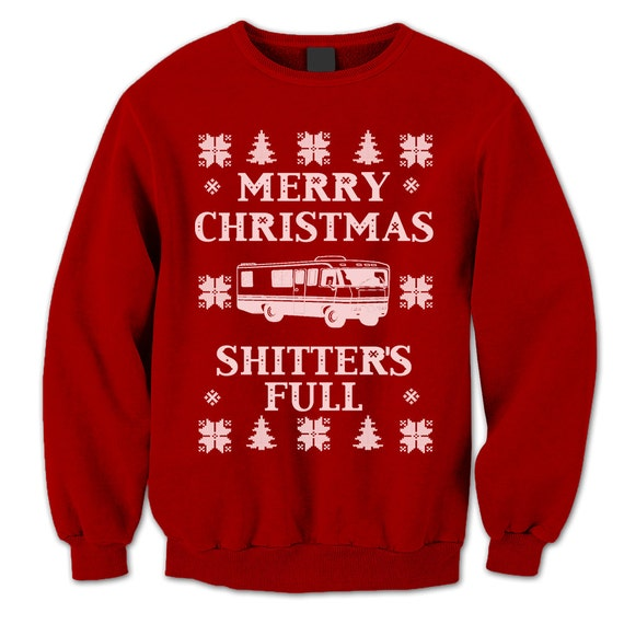 Merry Christmas Sweater Christmas Vacation Jumper Etsy