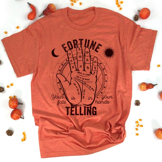 La cartomancie Tshirt Halloween Diseuse de bonne a...