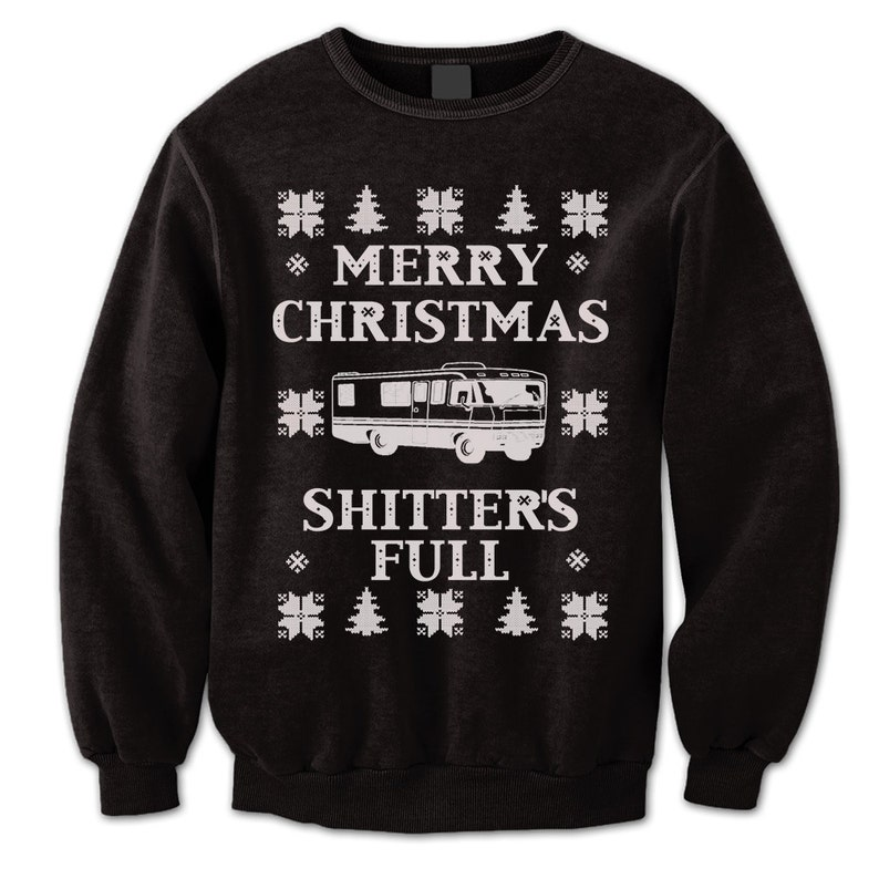 34f79e1808f Merry Christmas Sweater. Christmas Vacation Jumper.
