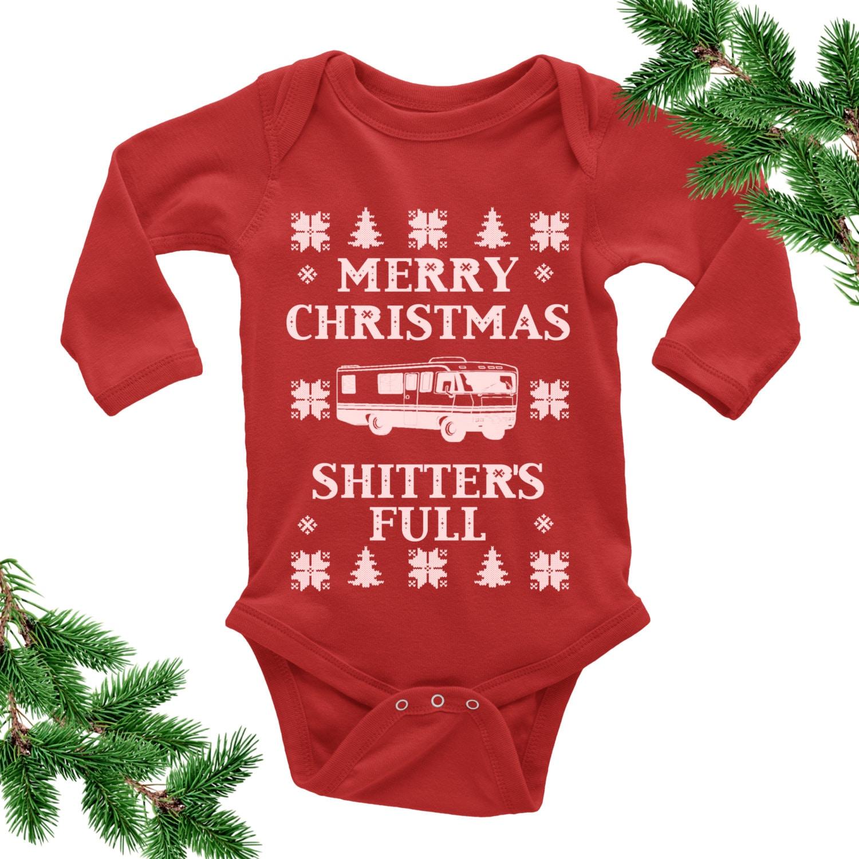 643d164618e6 Merry Christmas Shitter s Full Bodysuit. Ugly Christmas