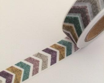 Klebeband Washi Tape Blumenranke türkis 15mm x 10m