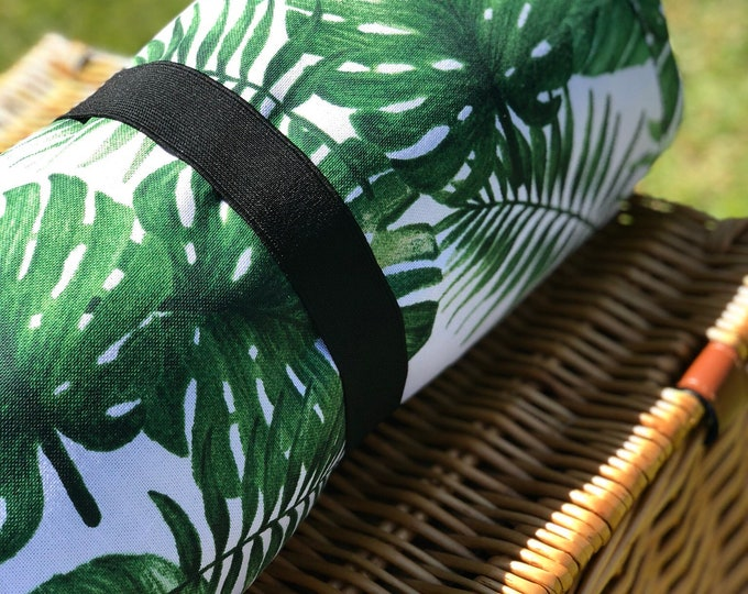 Featured listing image: Into the Jungle Collection - Green Jungle Picnic Blanket