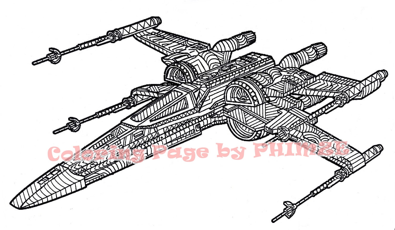 Xwing Starfighter Star Wars Star