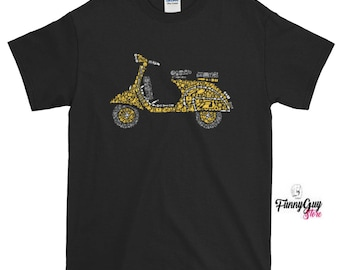 5f9bdc8e Scooter Tshirt Scooter Lover Tee Scooter Rider Tee Cute Scooter Tee Graphic  Tee BIrthday Gift Motorcycle Tee Cool Tshirt Gift For Him Or Her