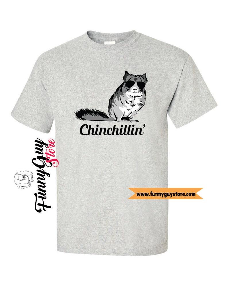 Chinchilla T Shirt Playing with My Chinchilla Tee Shirt