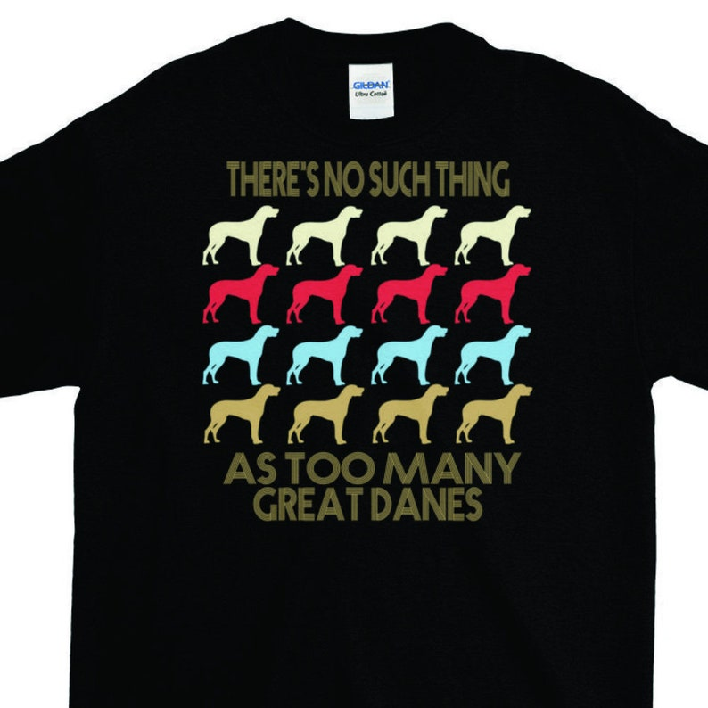 a1d96db3 Great Dane T shirts Great Dane Shirts Great Dane T shirt Funny   Etsy