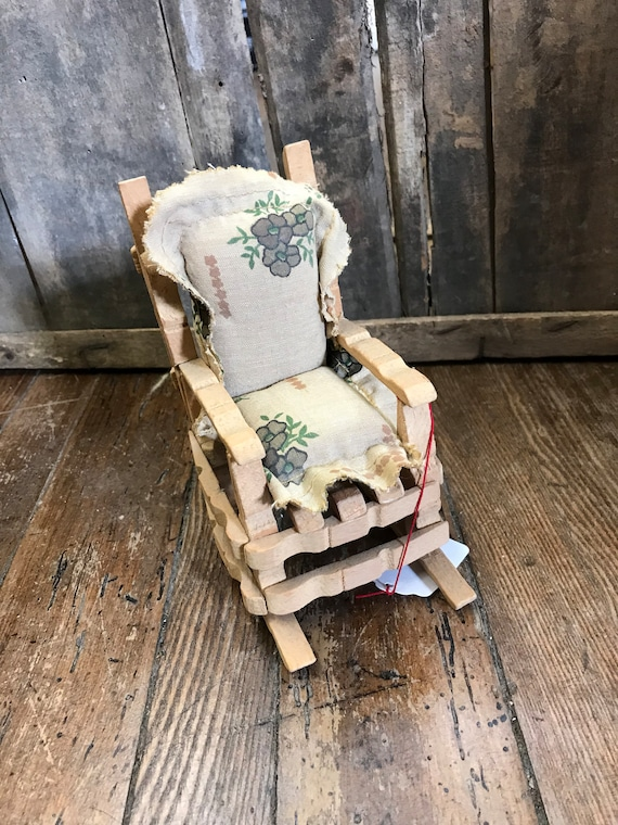 Sensational Clothespin Rocking Chair Squirreltailoven Fun Painted Chair Ideas Images Squirreltailovenorg