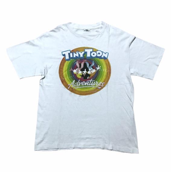 Vintage Tiny Toon Adventures T shirt 1991 looney t