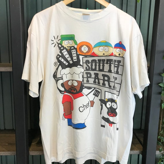Vintage Southpark t shirt cartoon anime movie cart