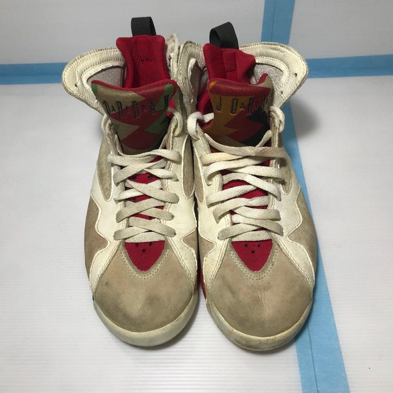 newest 45286 45c1c Nike Air Jordan 7 Hare Jordan 1992 OG Jumpman 23 Looney   Etsy