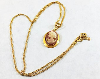 18k solid gold italian made chain italian 18k gold necklace vintage italian cameo necklace 18k gold necklace designer signed 750 gold chain italian aloadofball Image collections