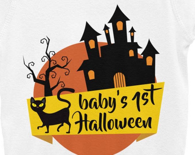 Baby's First Halloween Infant Bodysuit