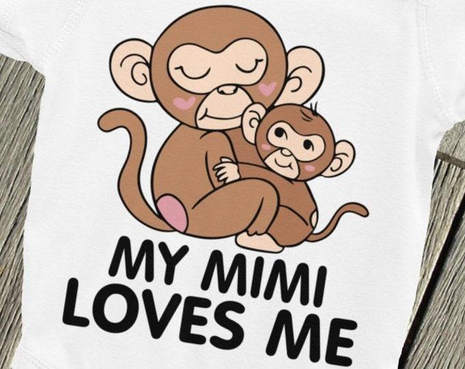 My Mimi LOVES Baby ONSIE,, MIMI Nappy, Mimi Baby, Mimi Loves Me, My Mimi Loves Me, Call Me Mimi, Grandma Loves Me, My Grandma Loves Me