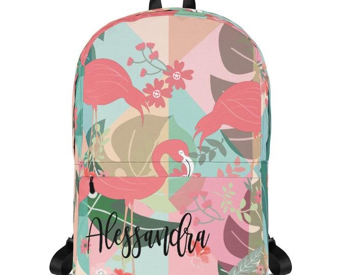 Kids Backpack - personalize backpack - custom school bag - backpack for school - monogrammed backpack - children backpack, monogram backpack