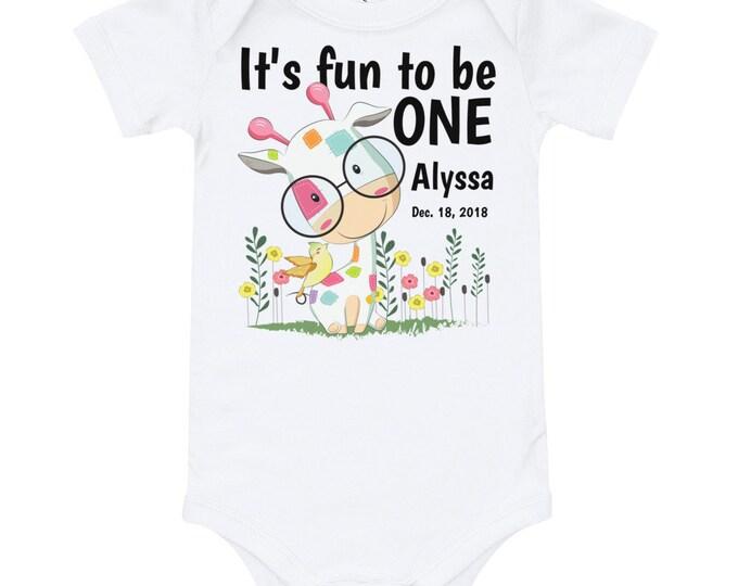 Featured listing image: First Birthday Custom Bodysuit,Custom Name 1st Birthday, Personalized Birthday Shirts  1st Birthday Shirt, First Birthday Girl, Custom Shirt