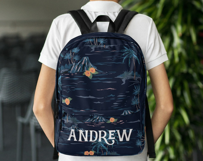 Back to school - Custom school bag - Custom gift - Personalize backpack - customized backpack - backpack with name - unique backpack