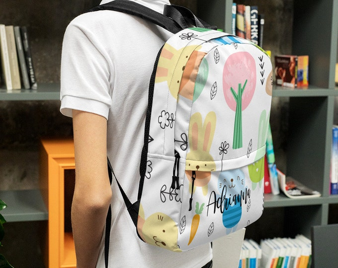 Custom gift - Personalize backpack - customized backpack - backpack with name - custom school bag - unique backpack