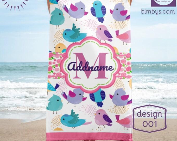 Monogrammed Towels, Personalized Towels, Custom Beach Towels, Personalized Beach Towel, Personalized Towel, Personalized Beach Towel Kids