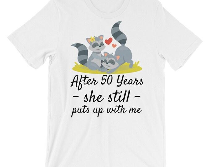50th anniversary t-shirt, anniversary gift, golden anniversary, wedding anniversary, anniversary gifts, anniversary, parents anniversary