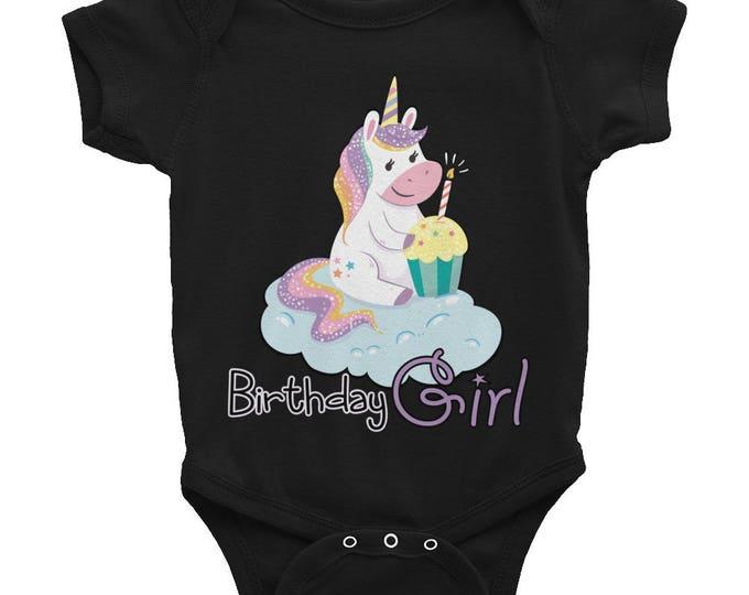 Baby Birthday Outfits for Girls, Birthday Outfit, Baby Girl Outfit Unicorn 1St Birthday Outfit Infant Bodysuit, Baby Romper, Baby Bodysuit,