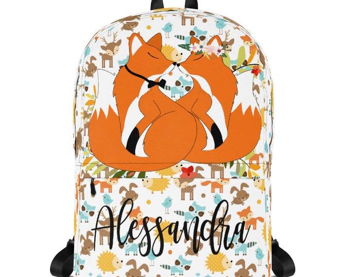 Personalize backpack - Kids Backpack - custom school bag - backpack for school - monogrammed backpack - children backpack, monogram backpack