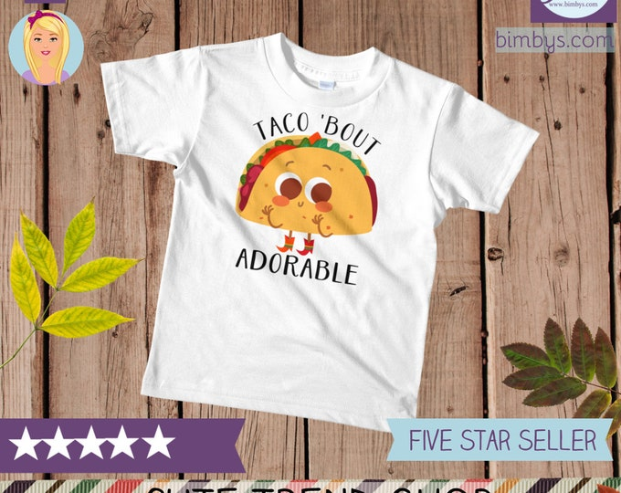 Food  Taco kids t-shirt, Funny Kids T-shirt with Taco Print, funny kids t-shirt, kids t-shirts, toddler t-shirt, funny kids shirt, cool kids